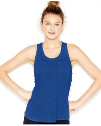 Lucky Brand | Blue Lucky Lotus By Lucky Brand Racerback Tank Top | Lyst