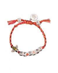 Venessa Arizaga | Orange Exclusive | Bee My Baby Bracelet | Lyst