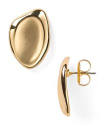 Robert Lee Morris - Metallic Stud Earrings - Lyst