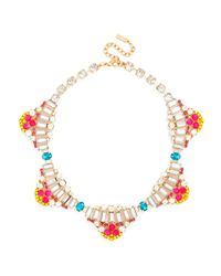 BaubleBar | Multicolor Crystal Vienna Collar | Lyst