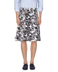 Jil Sander - White Bermuda Shorts for Men - Lyst