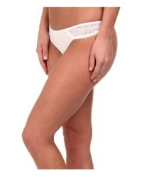 B.tempt'd | White B.awesome Thong | Lyst