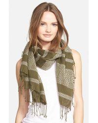 Madewell - Green 'Machu Picchu' Stripe Scarf - Lyst