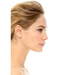 Madewell | Metallic Bar Hook Stud Earrings | Lyst