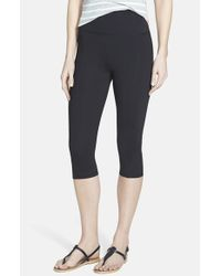 NYDJ | Gray City Sport Cropped Leggings | Lyst