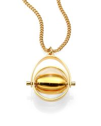 Chloé - Metallic Abby Pendant Necklace - Lyst