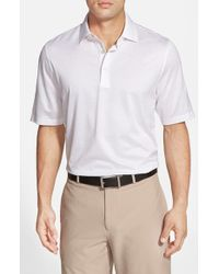 Bobby Jones | White 'Pin Jac' Pin Dot Cotton Polo for Men | Lyst