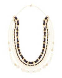 Persona - Blue Luisa Long Pearl Necklace Chain - Lyst