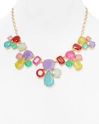 kate spade new york | Multicolor Gumdrop Gems Necklace 18 | Lyst