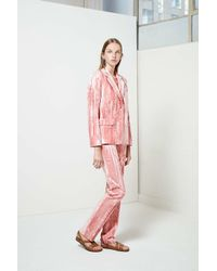 TOPSHOP | Pink Mayall Trousers By Unique | Lyst