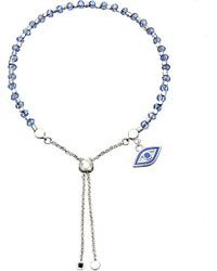 Astley Clarke | Blue Lapis Evil Eye Kula Bracelet | Lyst
