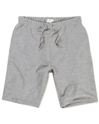 Sunspel | Gray Men's Loopback Cotton Short for Men | Lyst