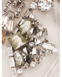 Vickisarge - Metallic Embellished Shard Necklace - Lyst