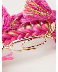Aurelie Bidermann | Pink 'takayama' Wrap Bracelet | Lyst