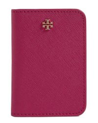 Tory Burch | Red 'york' Transit Pass Case | Lyst