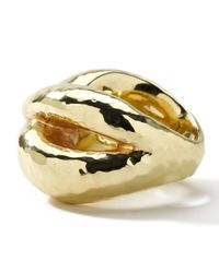Ippolita | Metallic Cross Hammered Ring | Lyst