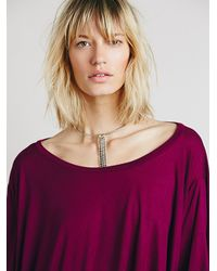 Free People - Red Emma Love Tee - Lyst