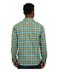 Patagonia | Green L/s Buckshot Shirt for Men | Lyst