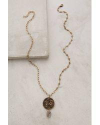 Anthropologie | Metallic Caribou Pendant Necklace | Lyst