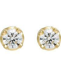 Hoorsenbuhs | Metallic Diamond Studs | Lyst