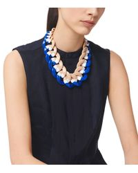 Tory Burch | Multicolor Resin Link Color-Block Necklace | Lyst