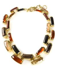 Vaubel - Multicolor Curved Link Necklace - Lyst