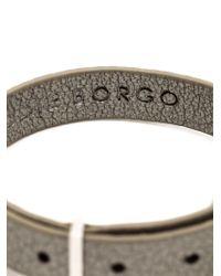 Eddie Borgo - Metallic Crystal Pave Cone Bracelet - Lyst