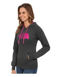 The North Face | Pink Half Dome Hoodie | Lyst