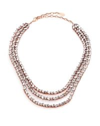 Erickson Beamon | Pink War Of Roses Crystal Multi-strand Necklace | Lyst