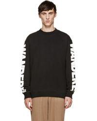 D by D - Black Wanderer Print Pullover for Men - Lyst