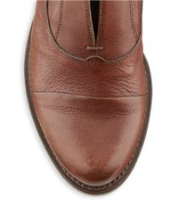Charles by Charles David | Brown Jackson Leather Oxfords | Lyst