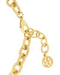 Ben-Amun - Metallic Gold-Plated Coin Necklace - Lyst