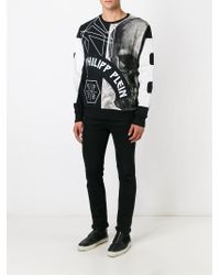 Philipp Plein - Black 'rampant' Hoodie for Men - Lyst