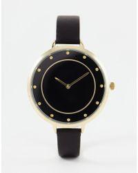 ALDO | Black Gresia Watch | Lyst