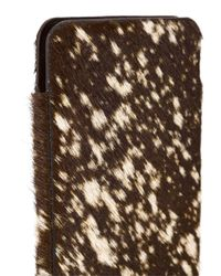 Isaac Reina - Black Dotted Fur Iphone 6 Case - Lyst