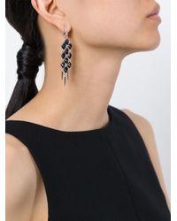 Stephen Webster - Metallic Faceted Stone Earrings - Lyst