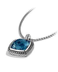 David Yurman | Blue Albion Pendant With Diamonds | Lyst