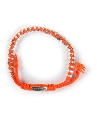 Paul Smith | Orange Double Beaded Bracelet for Men | Lyst