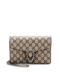 Gucci - Natural Dionysus GG Supreme Shoulder Bag - Lyst