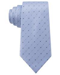 Kenneth Cole Reaction - Blue Iridescent Dot Slim Tie for Men - Lyst