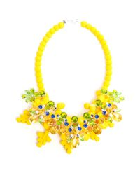 EK Thongprasert - Yellow Wrexham Buttercup Embellished Silicone Necklace - Lyst