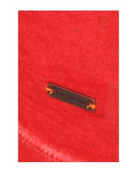 BOSS Orange   Red 'toulouse'   Cotton V-neck T-shirt for Men   Lyst