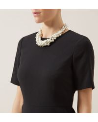 Hobbs | White Perry Necklace | Lyst
