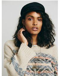 Free People - Natural Alpaca Fairisle Tunic Sweater - Lyst