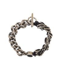 Tobias Wistisen | Metallic Spine Chain Bracelet for Men | Lyst