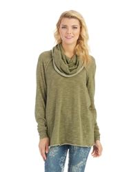 Free People - Green Cocoon Pullover - Lyst
