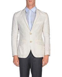 Etro - Gray Blazer for Men - Lyst