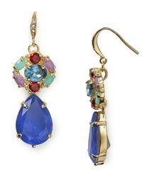 Carolee | Blue Fruit Punch Cluster Drop Earrings | Lyst
