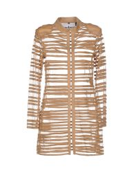 Caban Romantic - Natural Full-length Jacket - Lyst