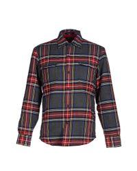 GANT - Gray Shirt for Men - Lyst